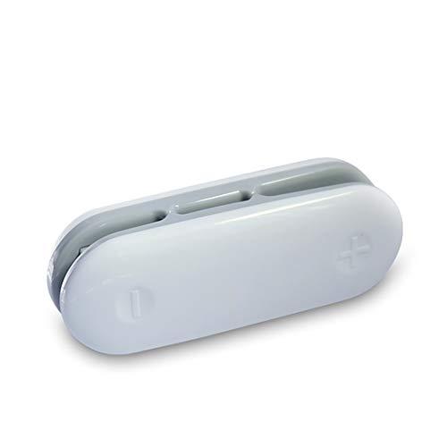 HEVÜY Mini Folienschweißgerät mini Bagsealer Hand-Folienschweißgerät, Lebensmittel bleiben vakuumiert bis zu länger frisch Gray