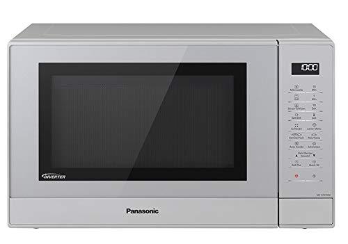 Panasonic NN-GT47KMGPG Kombi Mikrowelle 1000 Watt, mit Grill, Inverter Mikrowelle, 31 Liter silber