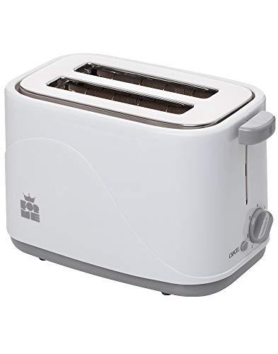 ForMe Toaster 700 Watt Brotröster 4 Bräunungsstufen Abbrechen Funktionen Krümelschublade I Wärmeisoliertes I Gehäuse I BPA frei