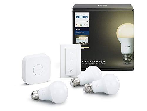 Top 10 Philips Hue White E27 LED Lampe Starter Set – LED Lampen