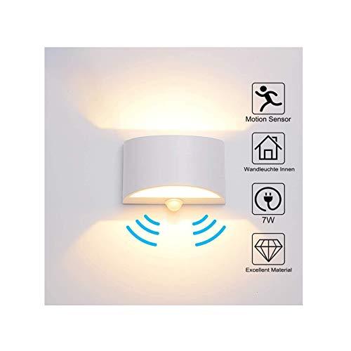 Top 10 Wandleuchten LED innen mit Bewegungsmelder – Wandleuchten