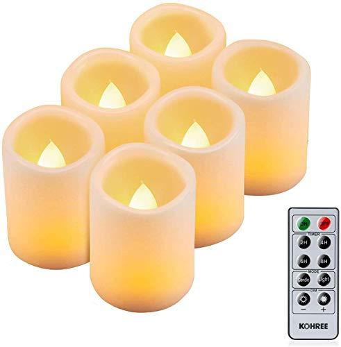 Top 10 Outdoor LED Kerzen mit Timer Kunststoff – LED Kerzen