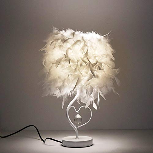 Top 8 Tischlampe Federn Weiss – Tischlampen
