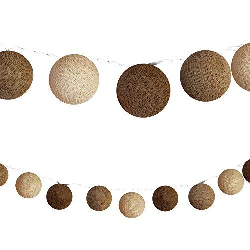 Top 10 Cotton Ball Lichterkette Beige – Lichterketten für Innen