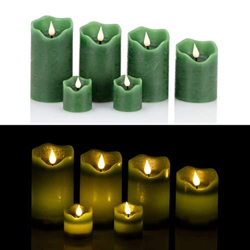Top 10 Echtwachskerzen grün – LED Kerzen