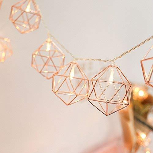 Top 9 Geometrische Metall Deko – Lichterketten für Innen