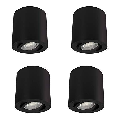Top 10 Deckenlampe rund schwarz – Deckenspots