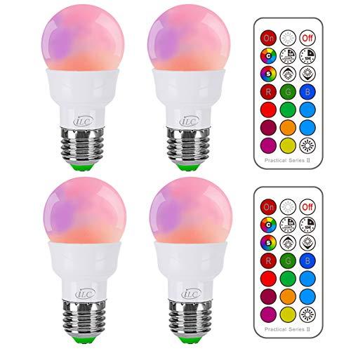 Top 9 Multicolor Glühbirne – Farbige Leuchtmittel