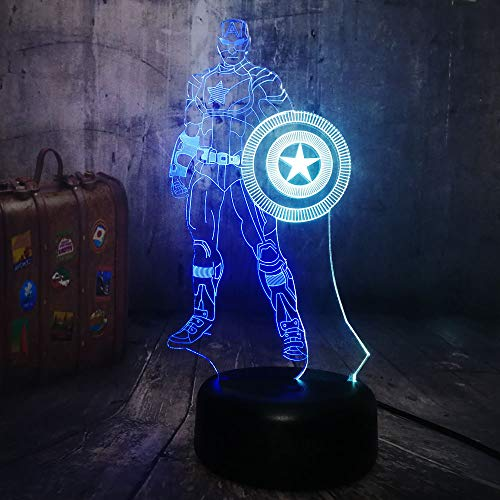 Top 9 Captain America Schild – Nachtlichter & Schlummerleuchten für Kinder
