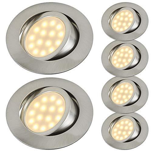 Top 10 LED Spot silber Matt – Einbauleuchten