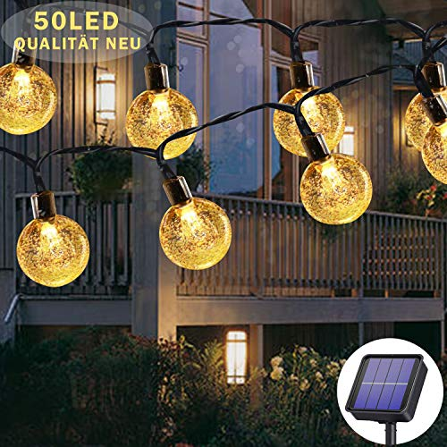 Top 10 Lichterkette LED Solar – Lichterketten für Außen & Innen