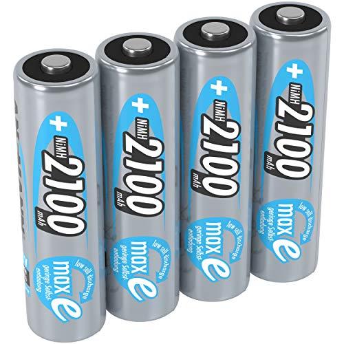Top 10 AA Batterien Wiederaufladbar mit Ladegerät – Akkus