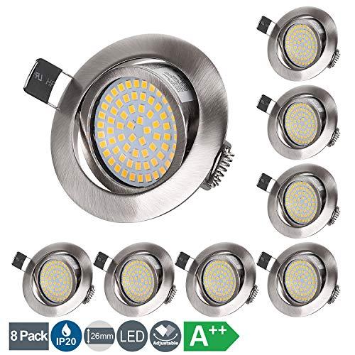Top 10 LED Einbaustrahler flach – Einbauleuchten