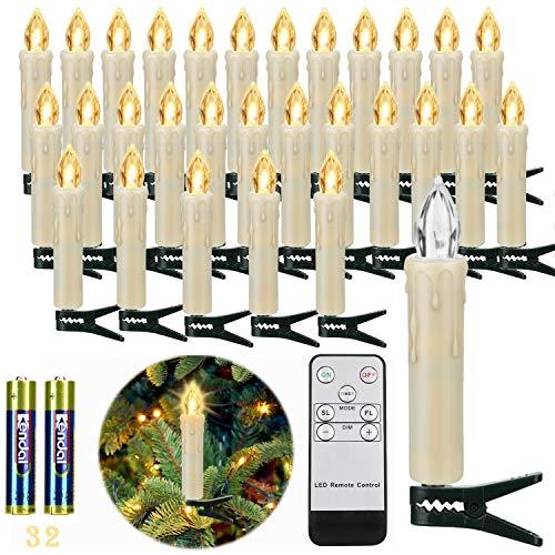 Top 9 Baumbeleuchtung Kabellos Aussen – LED Kerzen