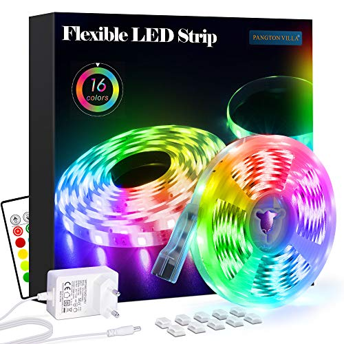 Top 10 Mini RGB LED Band, 5v – 24v 4 Pol. 41 Cm Lang, 3x2a – LED Streifen