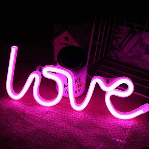 Top 10 LOVE LED Schriftzug Wand – Leuchtschilder