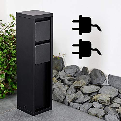 Top 2 Steckdose Wasserdicht Außen Aufputz – Schutzkontaktsteckdosen