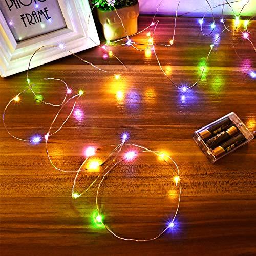 Top 10 Lichterkette Farbig Batterie – Lichterketten für Innen