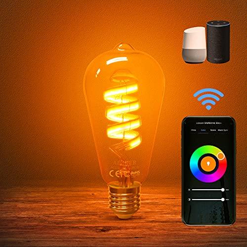 Top 10 Vintage Smart Glühbirne – Wi-Fi Lampen