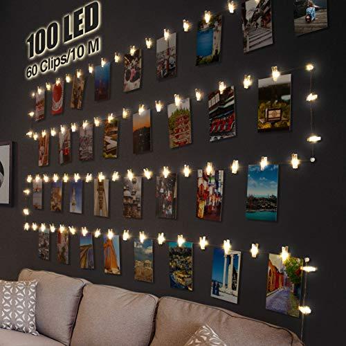 Top 10 Dekoration Rosegold Zimmer – Lichterketten für Innen